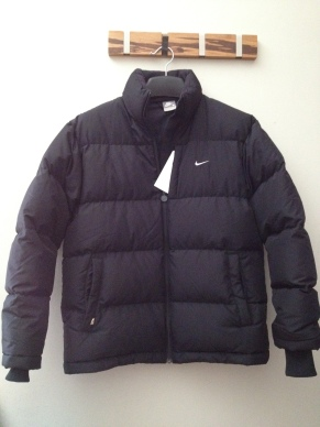 Nike Black Jacket with down fur
