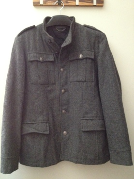 Zara Man Grey Coat