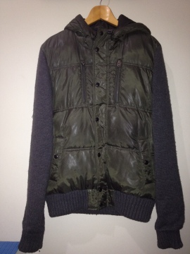 Zara Young Green Grey Jacket