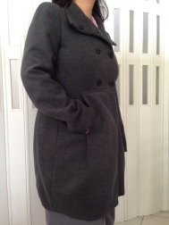 Zara 2013 Double Breasted Wool Coat