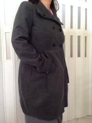 Zara 2013 Double Breasted Wool Coat